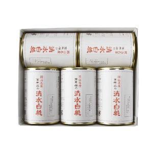 清水白桃缶詰 5缶|mankasou