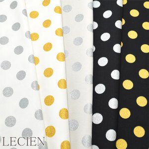 【A】《生地》 オックス ラメドット  (全5色) LECIEN ルシアン Tulle Girly Collection 41046 【再入荷なし】