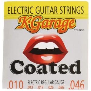 K-GARAGE エレキコーティング弦 E/G 010-046 HQC レギュラーゲージ K-Garage ケイガレージ|manmandougakki