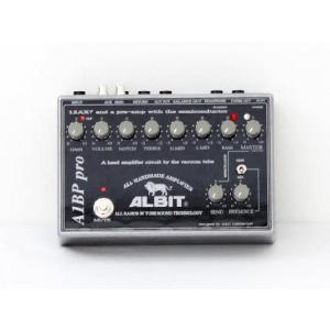 ベースプリアンプ ALBIT A1BP pro manmandougakki
