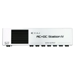CAJ エフェクター用パワーサプライ AC/DC STATION ver.4 ホワイト|manmandougakki
