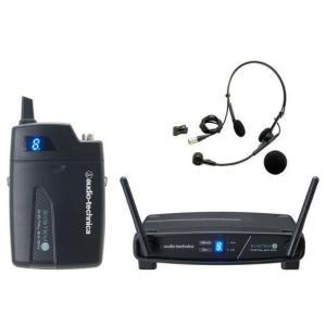 ヘッドウォーンマイクロホンワイヤレスシステム audio-technica ATW-1101 H|manmandougakki