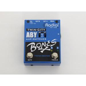 RADIAL A/B Yアンプスイッチャー Bones TwinCity|manmandougakki