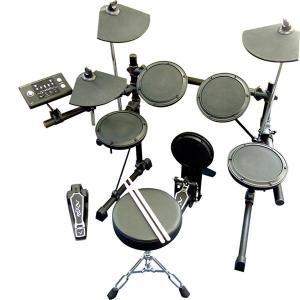 ヘッドホンHP170付き電子ドラム メデリ MEDELI デジタルドラム  DD502J|manmandougakki