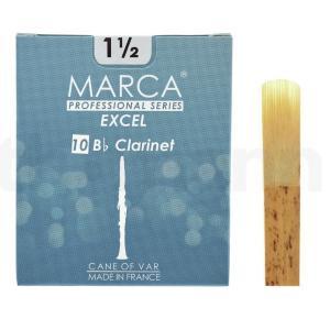 マーカ MARCA EXCEL B♭クラリネット リード [1 1/2] 10枚入り|manmandougakki