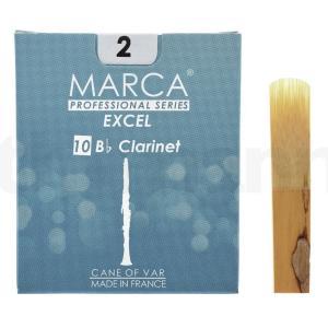 マーカ MARCA EXCEL B♭クラリネット リード [2] 10枚入り|manmandougakki