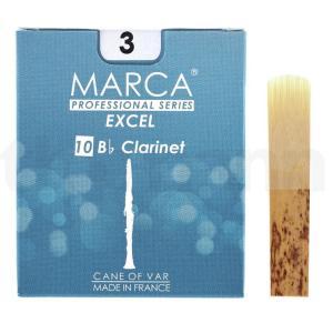 マーカ MARCA EXCEL B♭クラリネット リード [3] 10枚入り|manmandougakki
