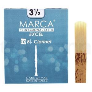 マーカ MARCA EXCEL B♭クラリネット リード [3 1/2] 10枚入り|manmandougakki