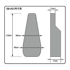 KC アコースティックギター用 ギグバッグ GB-AG1/GMB manmandougakki 04