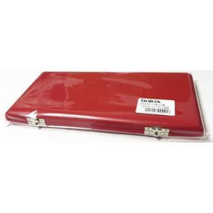 送料無料(代引き不可) 合皮張りリードケース GALAX ギャラックス GTX-10  赤  カラー...