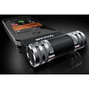 iPhone用ステレオコンデンサーマイク TASCAM iM2-B|manmandougakki