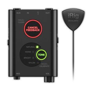 IK Multimedia iRig Acoustic Stage アコースティック・ギター用マイク&プリアンプ・システム|manmandougakki