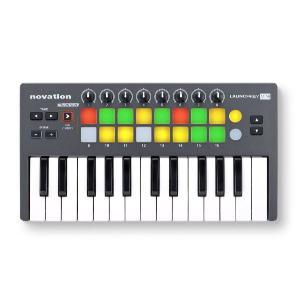 Novation  MIDIコントローラー Launchkey Mini|manmandougakki