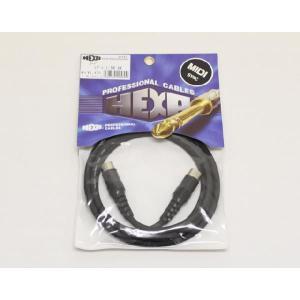 HEXA ケーブル MIDI-1-5M 長さ1.5m|manmandougakki