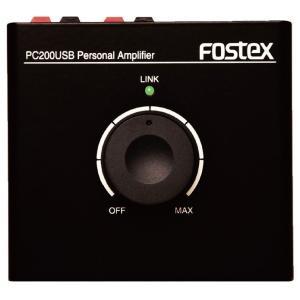 パーソナル・アンプ FOSTEX  PC200USB|manmandougakki