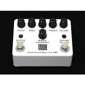 ベースプリアンプ FREEDOM Quad Sound Bass Pre Amp manmandougakki