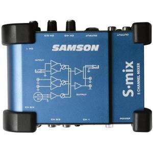 SAMSON 5CH コンパクトミキサー S.mix manmandougakki
