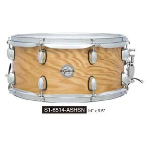 アッ シ ュ・ス ネ ア Gretsch Drums  S1-6514-ASHSN |manmandougakki