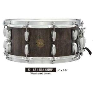 バ ーン ボ ード ス ネ ア Gretsch Drums  S1-6514SSBBBR グレッチ|manmandougakki