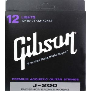 Gibson SAG-J200L アコースティックギター弦 manmandougakki