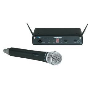 SAMSON ワイヤレス ハンドヘルドマイク(ボーカル用) ワイヤレスシステムセット SW88CL6