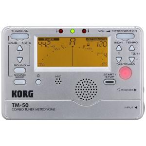 チューナー&メトロノーム KORG TM-50-SL|manmandougakki