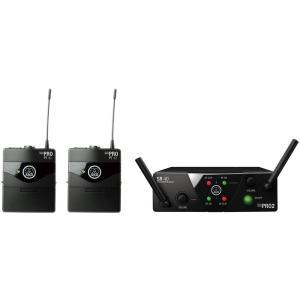 AKG 2チャンネルB帯ワイヤレスシステム WMS40 PRO MINI2 INSTRUMENTAL SET DUAL