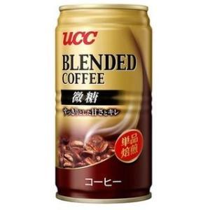 UCC ブレンドコーヒー 微糖 (185g缶×30本入)