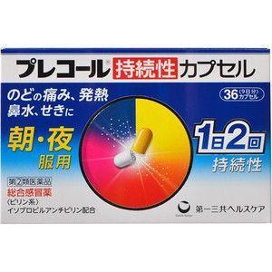 プレコール持続性カプセル 36カプセル 指定2類医薬品
