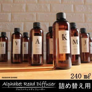 詰め替え用オイル ルームフレグランス 芳香剤 アートラボ アルファベット リードディフューザー おすすめ アロマディフューザー 香り レフィルの画像