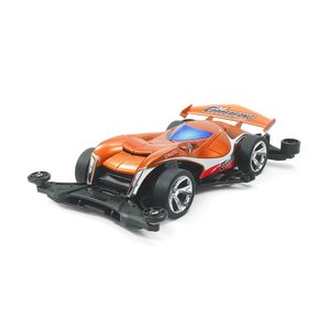 デザインコンテストの優秀賞マシン、カッパーファング。 ロングノーズのスポーツカーとヘビを合体させた迫...