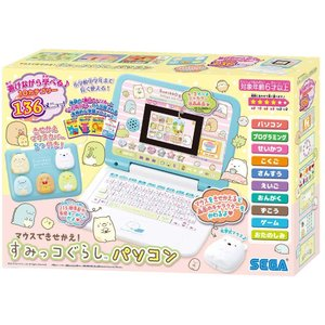 すみっコぐらしのかわいいパソコンが登場。 勉強も遊びもこれ1台。 すみっコたちと楽しくパソコン操作を...