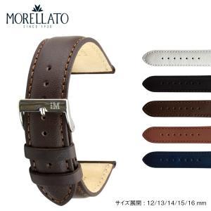 時計 ベルト 腕時計ベルト バンド  カーフ 牛革 MORELLATO モレラート GRAFIC グラフィック d0969087 12mm 13mm 14mm 15mm 16mm|mano-a-mano