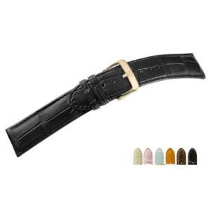 時計 ベルト 腕時計ベルト アリゲーター D2600 18mm 20mm 22mm 時計 バンド 時計バンド 替えベルト 替えバンド ベルト 交換|mano-a-mano