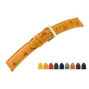 時計 ベルト 腕時計ベルト オーストリッチ D2630 12mm 13mm 14mm 15mm 16mm 18mm 時計 バンド 時計バンド 替えベルト 替えバンド ベルト 交換|mano-a-mano