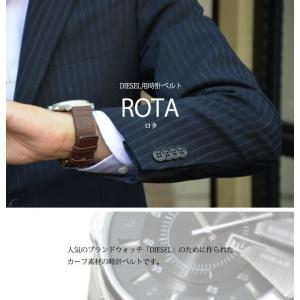 時計 ベルト 時計ベルト カーフ 牛革 CASSIS カシス ROTA ロタ u1006226 24mm|mano-a-mano|04