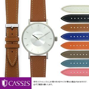 クラス14用 KLASSE14 にぴったりの時計ベルト 交換 牛革 レディース BREST U1088500|mano-a-mano