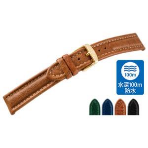 時計 ベルト 腕時計ベルト カーフ 牛革 水深100m防水 U1145 18mm 20mm 22mm 時計 バンド 時計バンド 替えベルト 替えバンド ベルト 交換 mano-a-mano