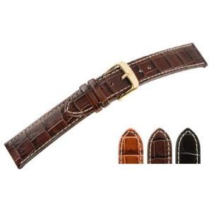 時計 ベルト 腕時計ベルト カーフ 牛革 U1185 16mm 18mm 20mm 22mm 時計 バンド 時計バンド 替えベルト 替えバンド ベルト 交換|mano-a-mano