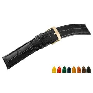時計 ベルト 腕時計ベルト アリゲーター U1600 16mm 17mm 18mm 19mm 20mm 22mm 24mm 時計 バンド 時計バンド 替えベルト 替えバンド ベルト 交換|mano-a-mano