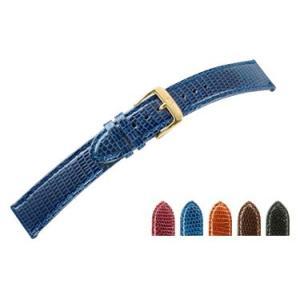 時計 ベルト 腕時計ベルト リザード U1685 16mm 17mm 18mm 19mm 20mm 時計 バンド 時計バンド 替えベルト 替えバンド ベルト 交換|mano-a-mano