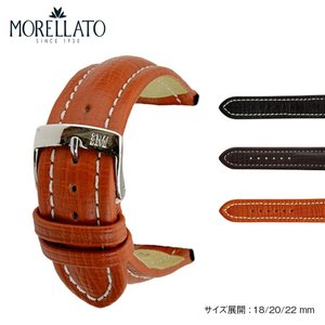 時計 ベルト 時計ベルト ブライトリング用 カーフ 牛革 MORELLATO モレラート TIPO BREITLING CUOIO ティポブライトリングクオイオ u2266632 18mm 20mm 22mm|mano-a-mano