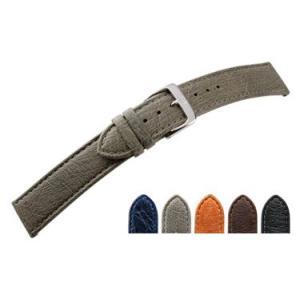 時計 ベルト 腕時計ベルト オーストリッチ U3020 18mm 20mm 時計 バンド 時計バンド 替えベルト 替えバンド ベルト 交換|mano-a-mano