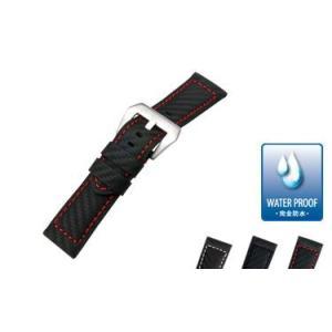 時計 ベルト 腕時計ベルト バンド  パネライ用 ポリウレタン素材 CASSIS カシス TYPE PNR44 UBPAN005 タイプピーエヌアール44 UBPAN005 24mm|mano-a-mano