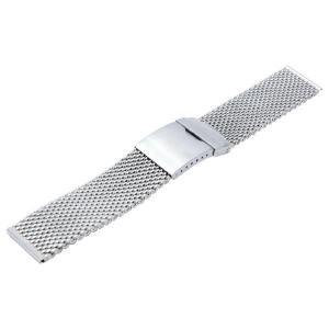 時計 ベルト 腕時計ベルト バンド  ステンレススチール CASSIS カシス Mesh Mirror メッシュミラー v99466h4 16mm|mano-a-mano