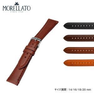 時計 ベルト 腕時計ベルト バンド  カーフ 牛革 MORELLATO モレラート BELLINI ベリーニ x4271b13 14mm 16mm 18mm 20mm|mano-a-mano