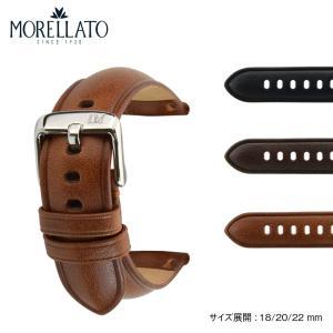 時計 ベルト 腕時計ベルト バンド  カーフ 牛革 MORELLATO モレラート MANTEGNA マンテーニャ x4685b71 18mm 20mm 22mm|mano-a-mano