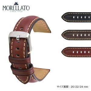 時計 ベルト 腕時計ベルト バンド  カーフ 牛革 MORELLATO モレラート MASACCIO マサッチオ x4808b71 20mm 22mm 24mm|mano-a-mano