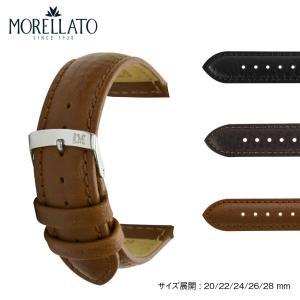 時計 ベルト 腕時計ベルト バンド  カーフ 牛革 MORELLATO モレラート PANAMERA パナメラ X4938C22 20mm 22mm 24mm 26mm 28mm|mano-a-mano