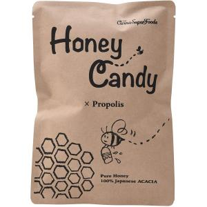 HoneyCandyプロポリス 70g【カルナスーパーフード】3年熟成 プロポリス 原液 国産 アカシア 蜂蜜 はちみつ キャンディ のど飴|manpuku-kyusyu